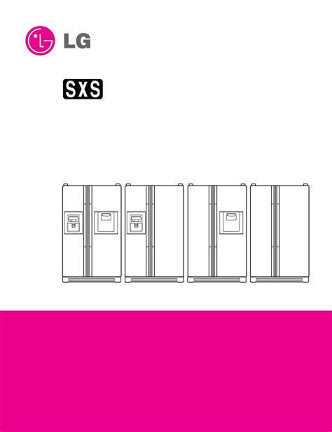 Lg Gr L197wvs Refrigerator Service Manual