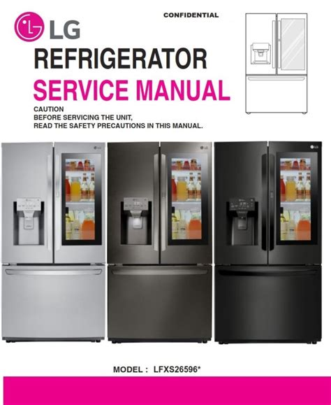 Lg Lfxc24726s Service Manual Repair Guide