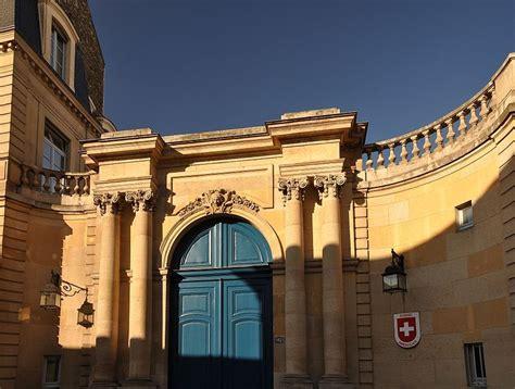 Lhotel De Besenval Siege De Lambassade De Suisse En France