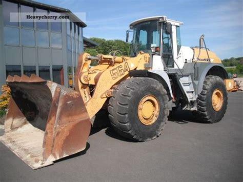 Liebherr L564 Wheel Loader Operators Operating Manual 1