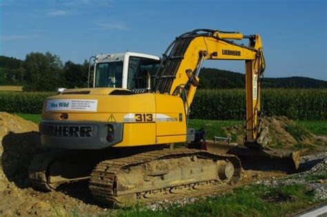 Liebherr R313 Litronic Hydraulic Excavator Operators Operating Manual Serial No From 27752