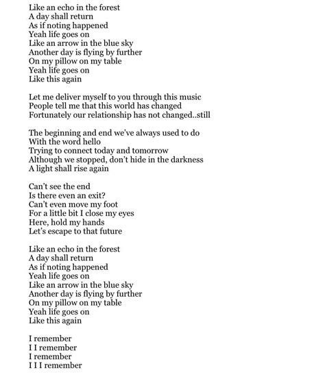 Life Goes On English Edition