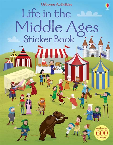 Life In The Middle Ages Sticker Book Sticker Books
