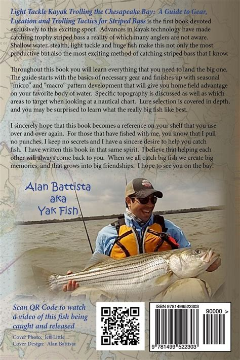 Light Tackle Kayak Trolling The Chesapeake Bay A Guide To Gear Location And Trolling Tactics For Striped Bass