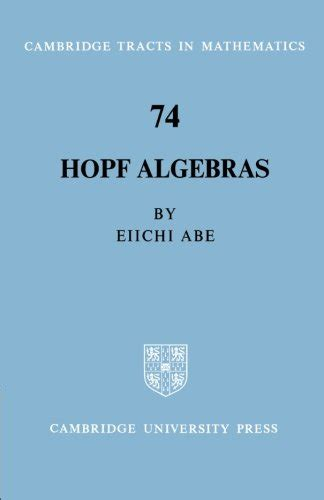 Linear Algebras Cambridge Tracts In Mathematics And Mathematical Physics