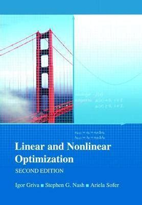 Linear And Nonlinear Griva Optimization Solution Manual