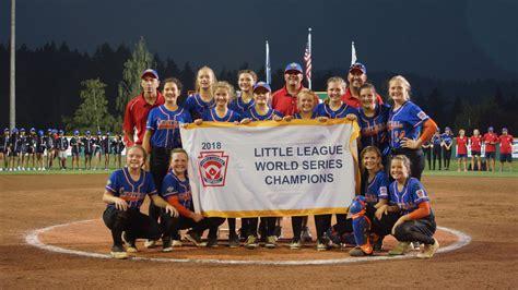 Little League Softball Champs