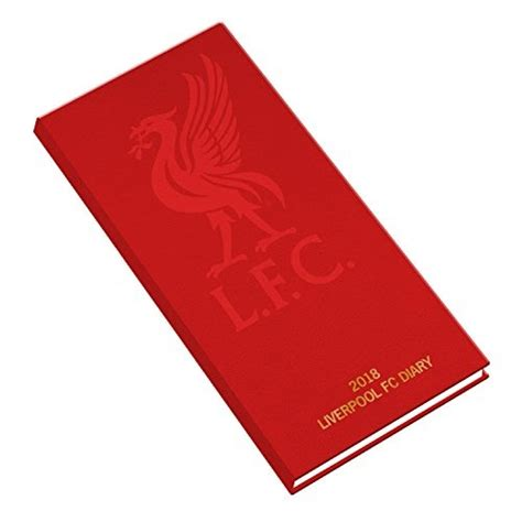 Liverpool Official 2018 Diary - Week to View Slim Pocket Format