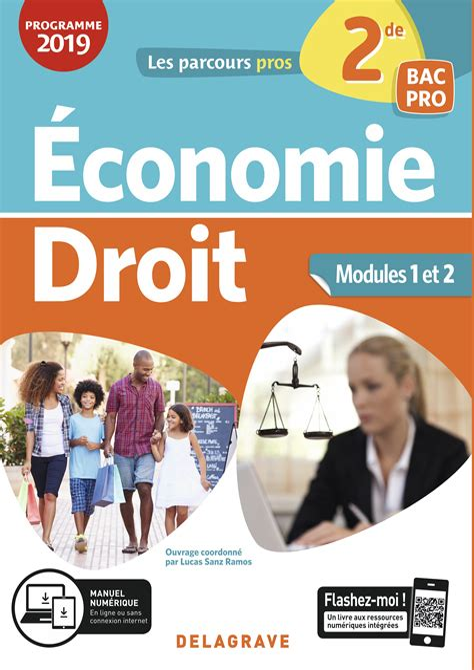 Livre Professeur Economie Droit Seconde Bac Pro