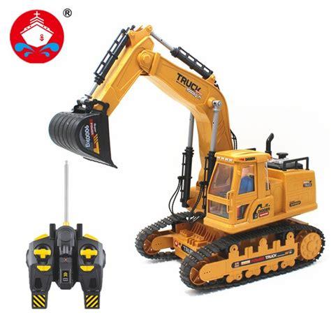 Ljshu Nino Y Nina De Control Remoto Inalambrico Excavadora Excavacion Nieve Excavacion Ninos Jugar Herramientas