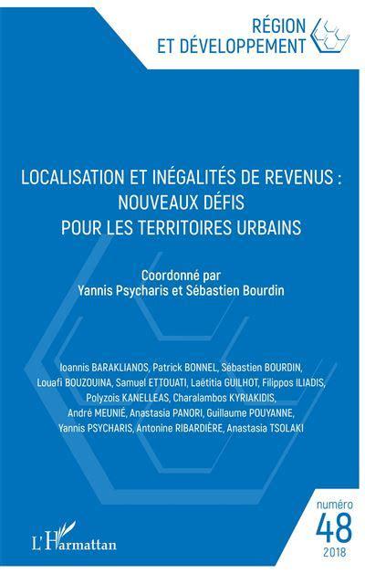 Localisation Et Inegalites De Revenus Nouveaux Defis Pour Les Territoires Urbains