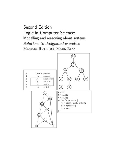Logic In Computer Science Huth Ryan Solutions