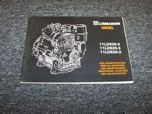 Lombardini 11ld625 3 11ld626 3 Engine Complete Workshop Service Repair Manual