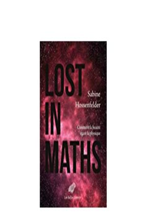 Lost In Maths Comment La Beaute Egare La Physique