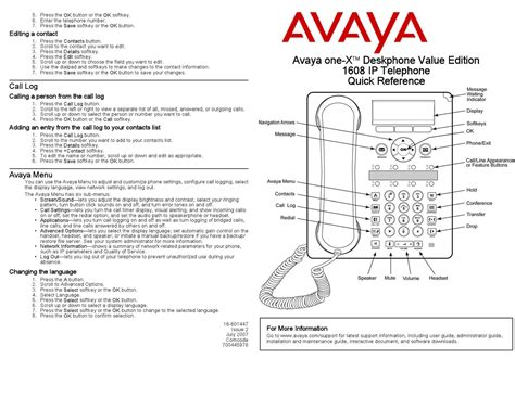 Lucent Phone User Guide