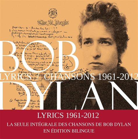 Lyrics 1961 2012 Nouvelle Edition Augmentee