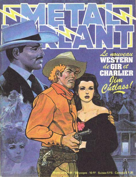 Métal Hurlant n° 44 - couverture Gir (Jim Cutlass)