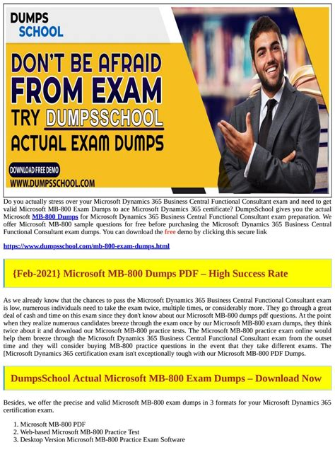MB-800 Exam Overview