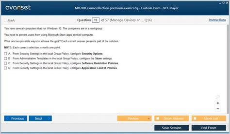 MD-100 Practice Exam Pdf