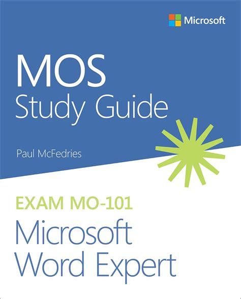 MO-101 Exam Flashcards
