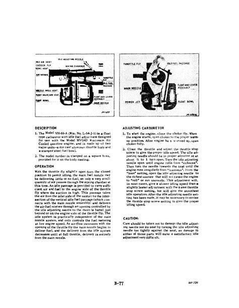 Ma4spa Aircraft Carburetor Service Manual