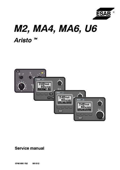 Ma6 Service Manual