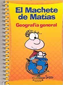 Machete 4 Geografia General