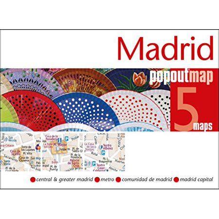 Madrid Popout Map Popout Maps