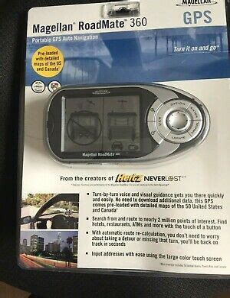 Magellan Roadmate 360 Portable Manual