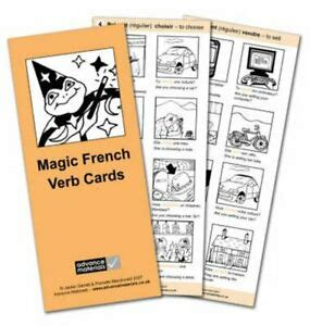 Magic French Verb Cards Flashcards 8 Speak French More Fluently