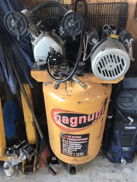 Magnum 5hp 35 Gal Air Compressor Manual