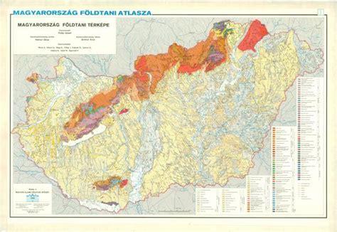 Magyarország földtani atlasza országjáróknak. 1:200 000. Geologischer Atlas von Ungarn für Touristen.