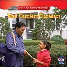 Mail Carriers Carteros People In My Community Mi Comunidad