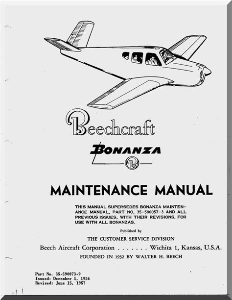 Maintenance Manual Aeroplane