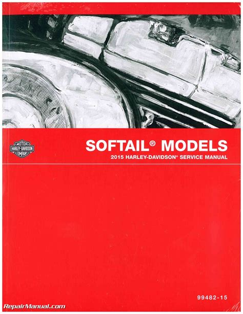Maintenance Manual For Softail 2015