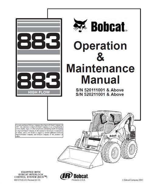 Maintence Manual 883
