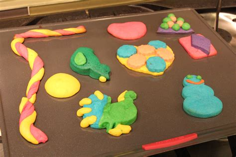 Making Play Doh for Kids
