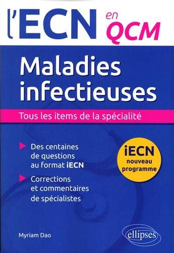 Maladies Infectieuses L Ecn En Qcm