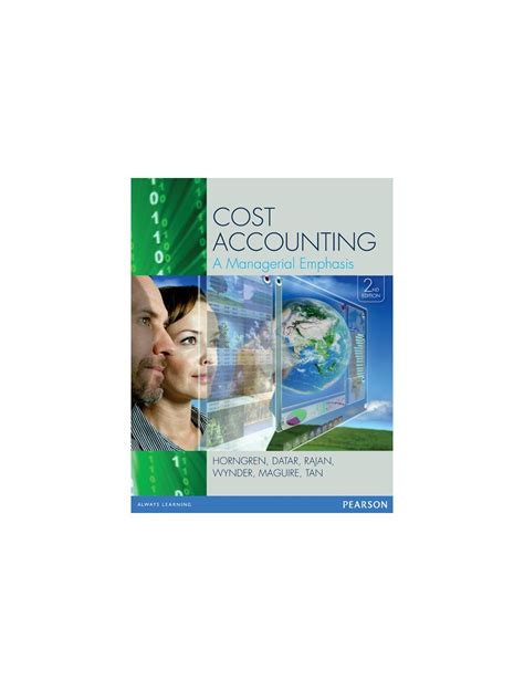 Managerial Accounting 2nd Edition Horngren Solution Manual