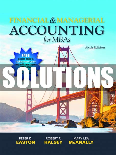 Managerial Accounting 6th Edition Answers