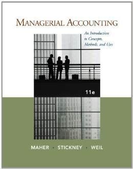 Managerial Uses Of Accounting Information Solution Manual