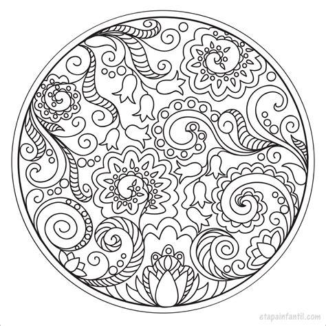 Mandala Libro Para Colorear Para Ninos 1 Volume 1 Mandala Para Ninos