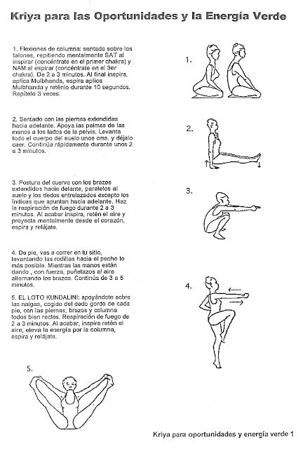 Manual De Kriyas Para Instructores De Kundalini Yoga Kriyas