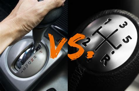 Manual And Automatic Car Difference