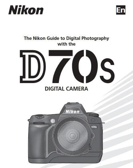 Manual Camara Nikon D70