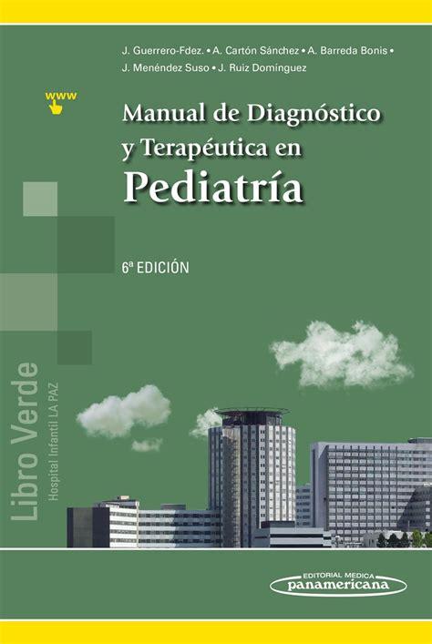 Manual De Diagnostico Y Terapeutica En Pediatria