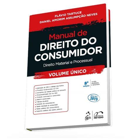 Manual De Direito Do Consumidor Tartuce