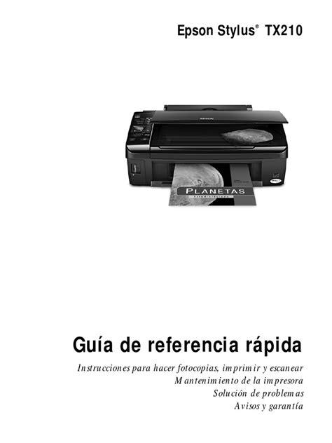 Manual De Impresora Epson