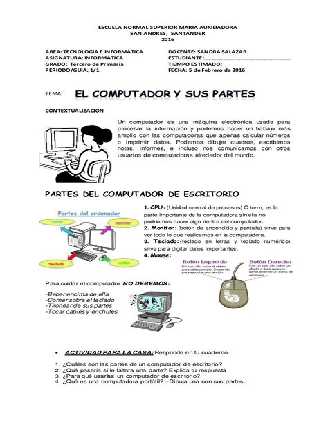Manual De Informatica Basica Para Ninos