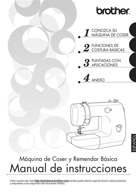 Manual De Instrucciones Maquina De Coser Remington